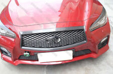Carbon Fiber Front Grill Grille Frame Cover for 2013-2018 Infiniti Q50 2014