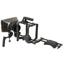 Filmcity DSLR Camera Shoulder Rig Matte Box Cage with Top Handle fr Tripod Mount