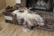 Genuine Icelandic Sheepskin Rug Throw – shade of grey