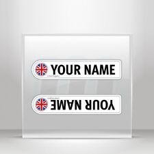Stickers Decal Bicycle mountain bike name flag United Kingdom  A19 3X445