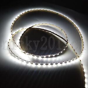 1M 3mm Width 3528 LED Flexible Strip Light 96LEDs Narrow IP20 White 12V