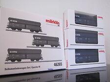 Märklin H0 46265 Selbstentladenwagen-set Vtg NL NS