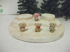 Hallmark Merry Miniatures Valentine'S Day Koala Bears Lot Of 4 Cupid 1988 Ws