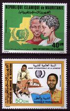 Mauretanien 850,864 **, Internationales Jahr der Jugend 1985-Landwirtschaft