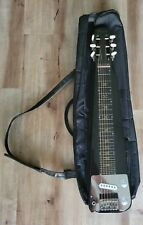 Rossetti Electric Lap Steel Guitar black sparkle Slide Guitar. Comes w/ gig bag
