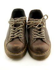 Dr Doc Doctor Martens Lace-Up Brown Leather Shoes Size 7 Men - 8 Womens #10940