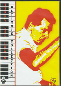 Jerry Lee Lewis Ultimate Collection: I Am What I Am & Live - 2 DVD set, region 0