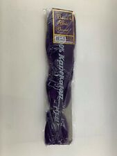 Black N Gold Braid Color Purple 100% Kanekalon Modacrylic Fiber Brand New