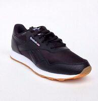 Reebok Classic Royal Nylon Gum Black White Memory Tech Mens Shoes Size 7.5-13