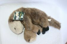 Vintage Fiesta Toy  Sea Otter & Baby Plush 1995 Original Tag Multi-color
