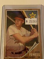 🔥 1962 TOPPS Baseball Card Set #99 🔥 JOHN BOOG POWELL 🔥 ROOKIE CARD RC