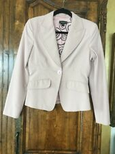 Bebe Dusty Pink Fitted Blazer Size 4
