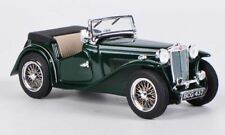 wonderful diecast-modelcar MG TC Roadster 1945 RHD open - green - 1/43 - lim.ed.