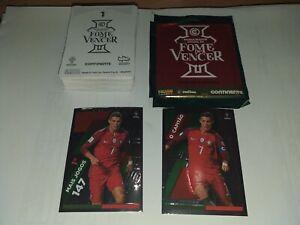 Complete sticker set Fome de Vencer Panini + gift sealed pack -Cristiano Ronaldo
