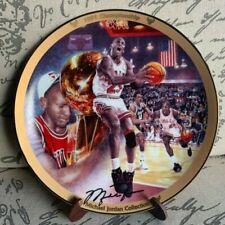Michael Jordan 1991 Championship COLLECTORS PLATE #3835C Bulls Limited Edition