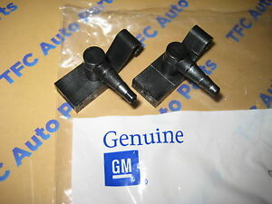 2 Chevrolet GMC Cadillac Truck Front Windshield Washer Nozzle Squirter OEM New