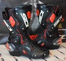 SIDI Vertigo LEI LADY black RED MOTORCYCLE MOTORBIKE BOOTS UK 4 EUR 37 F15