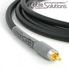 Cable Solutions Signature Series 77 Subwoofer Interconnect Cable 12m