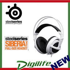 SteelSeries Siberia v2 Full Size Multipurpose Gaming Headset 3.5mm WHITE