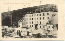 BAGNOLS-LES-BAINS hôtel du midi lib planchon timbrée 1908