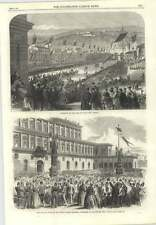 1866 King Of Italy Enters Verona And At Pitti Palace Florence
