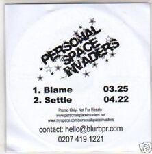 (G672) Personal Space Invaders, Blame - DJ CD