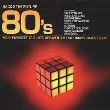 Back 2 The Future 80's Various MUSIC CD