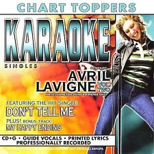 Avril Lavigne : Karaoke Singles Pop 1 Disc Cd