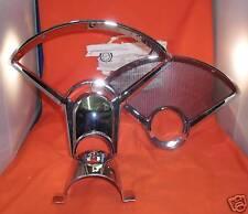 1955 1956 Chevy Dash Chrome Instrument Bezel Cluste Auto Set Belair 150-210