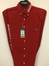 NWT Resistol Logo Rodeo Western Embroidered Long Sleeve.(MED) Shirt