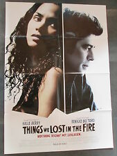 THINGS WE LOST IN THE FIRE - Filmplakat A1 - Halle Berry, Benicio del Toro