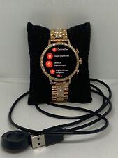 Fossil Gen 4 FTW6015 Womens Stainless Steel Digital Dial Wrist Smart Watch NA248