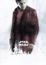 "Oscar Isaac - Star Wars:The Last Jedi - Hand Signed Autograp Poster 11x17"" - COA"
