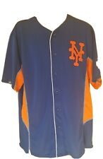 New York Mets Cooperstown Baseball Jersey XL  World Series 1986  NWT