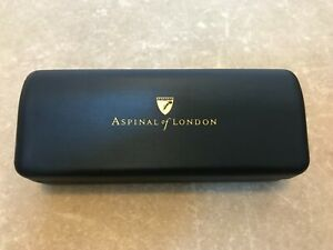 Aspinal of London Designer Unisex Sunglasses Hard/Soft Case Set. Brand New
