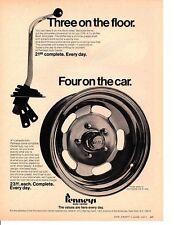 1971 PENNYS SHIFTER / WHEEL ~ ORIGINAL PRINT AD