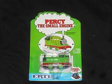 THOMAS THE THE TANK ENGINE RARE PERCY (PAPER FACE) DIECAST MADE BY ERTL