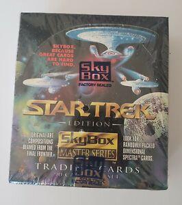1993 Skybox Star Trek Masters Series Sealed Wax Box Look for Randomly Spectra