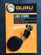 GURU FISHING SUPER TIGHT LINE STOPS  - MEDIUM 6mm - 12 PER PACK