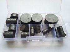 100PCS 3mm Thickness 8mm-30mm Diameter Ferrite Magnets Round Magnet Diskette