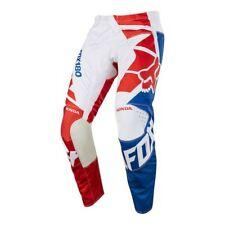 Pantalone moto Cross Fox 180 HONDA RED Tg 34/50