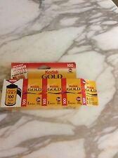 Kodak Gold Color Print Film  ISO200 35mm Cartridge  24-exposure 2 pkgs