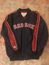 Boston Red Sox Majestic Dugout Jacket Coat Men's Adult L Navy Blue