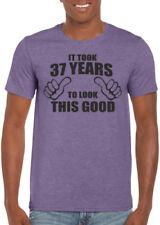 Magliette da uomo viola grafici Gildan