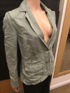 Timbaland Pale Green Long Sleeve Jacket - UK Ladies Size 10