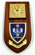 SO19 FIREARMS UNIT METROPOLITAN POLICE HAND MADE TO ORDER REGIMENTAL WALL CLOCK