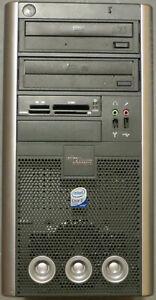 Retro Desktop PC Fujitsu Scaleo P2 G31T-M2 (Pi 2662), Windows XP + 10 Dual Boot