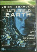 Battlefield Earth - John Travolta - Region 4 - Preowned - Sent Tracking (D164)