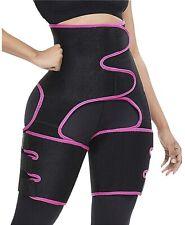3-in-1 Waist & Thigh Trimmer Butt Lifter High Waist Sports Shapewear Hips Belt