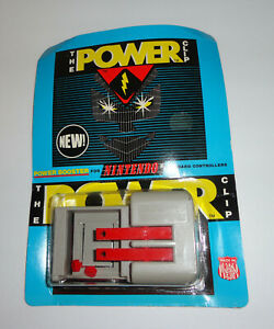 Rare 1991 NES Nintendo THE POWER CLIP NEW IN PACKAGE SEALED ORIGINAL ACCESSORY